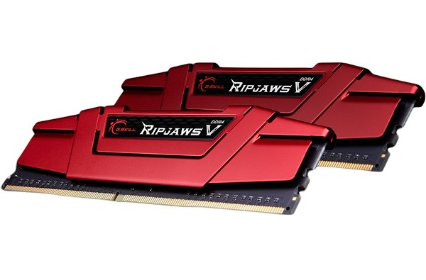 8GB G.Skill DDR4 DRAM PC4-19200 2400MHz Ripjaws V for Intel Z170/X99