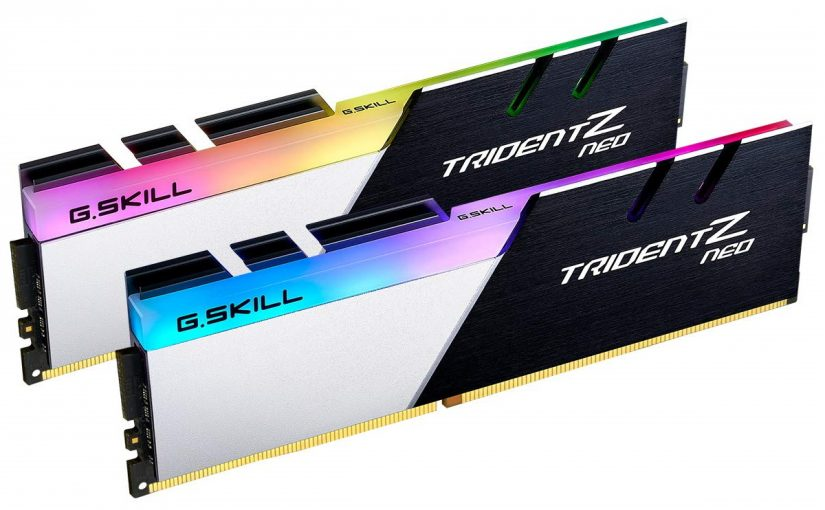 Coming Soon! G. Skill Trident Z Neo DDR4 for AMD Ryzen 5000 CPUs