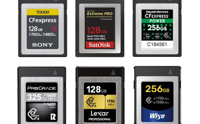 Upgrade Your Camera's Performance with the New CFexpress Memory Cards