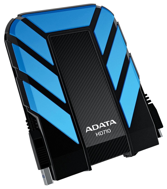 1tb Adata Dashdrive Durable Hd710 Usb30 Portable Hard Drive Blue Hardisk Eksternal Transcend 2 Tb Storejet Black