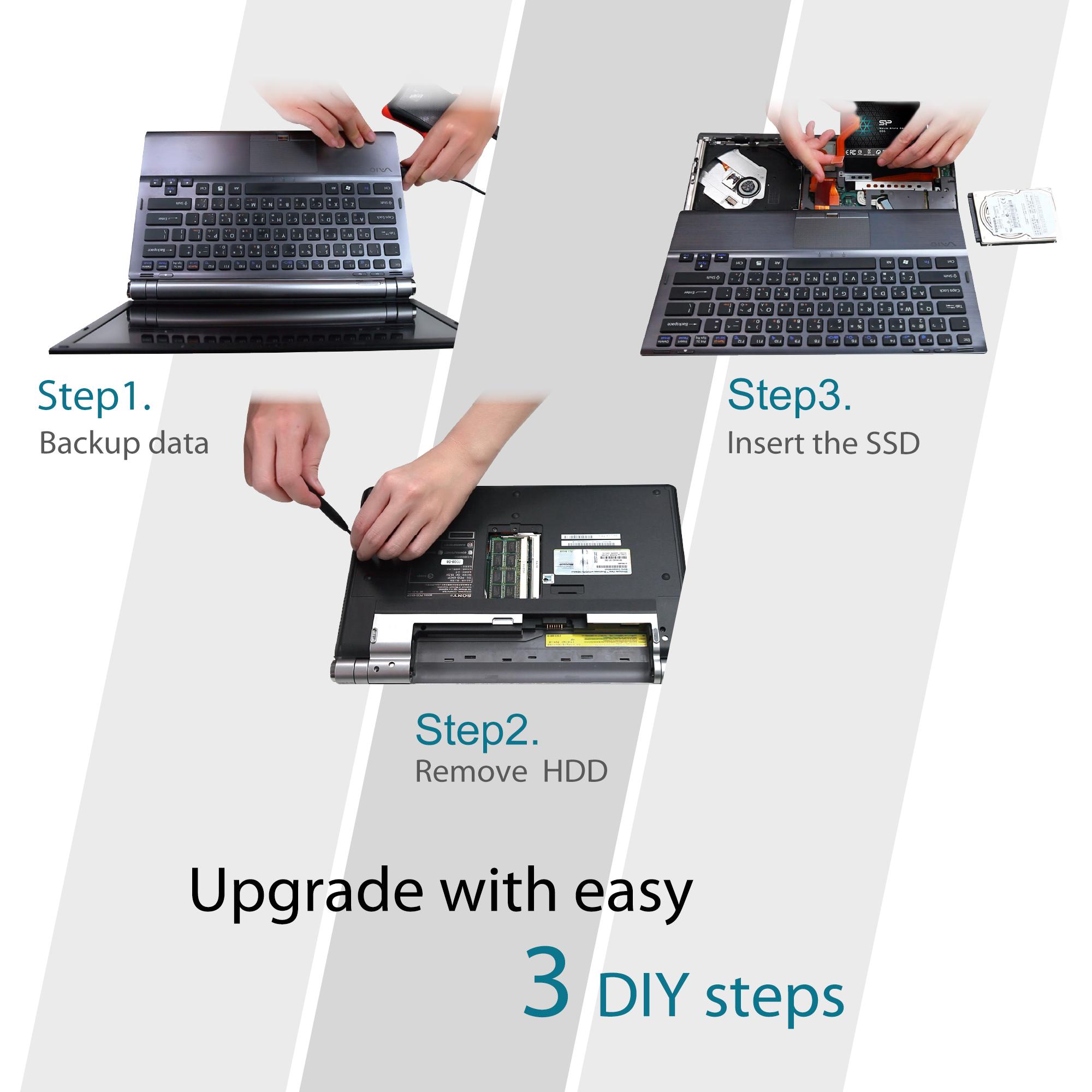 120GB-Silicon-Power-SATA3-SSD-S55-2-5-034-TLC-Slim-7mm-read-write-520-370MB-sec thumbnail 4