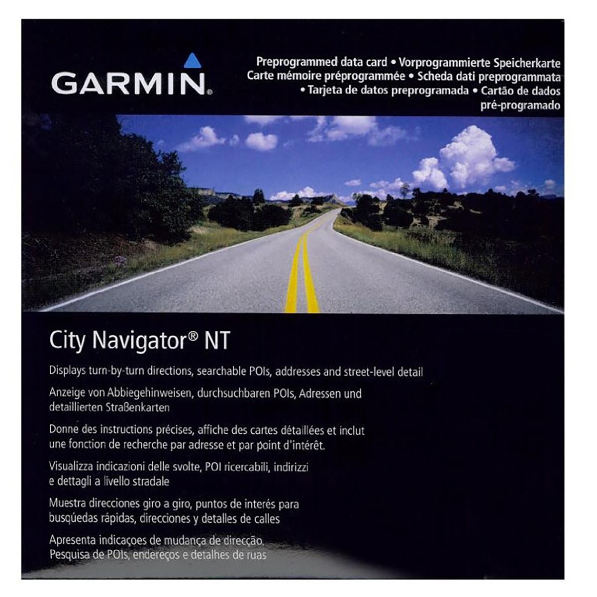 010-11043-00 Garmin City Navigator Mapas Tarjeta Sd-Benelux /& Francia