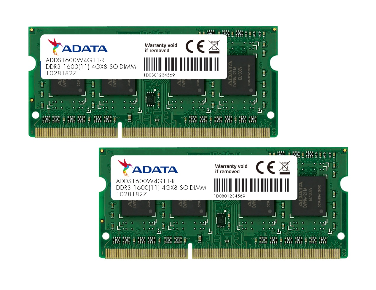 8gb Adata Ddr3 1600mhz So Dimm Pc3 12800 Cl11 Laptop Memory Kit 2x 4gb Memori Pc