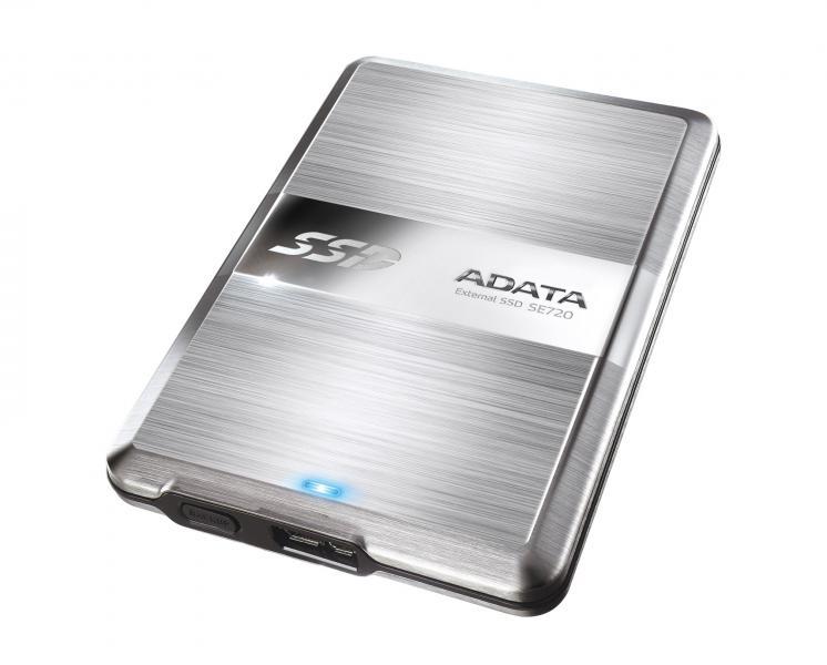ADATA 128GB SSD DashDrive Elite SE720 External Solid State Drive Image