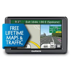 Garmin Nuvi 2495LMT GPS Satnav 4.3-inch screen European maps, Voice activation, 3D traffic, Lifetime maps and traffic, at Sears.com