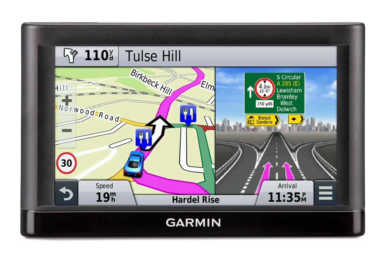 Garmin Nuvi  GPS Satnav Inch Touchscreen Western Europe Maps - Sat nav with usa and europe maps