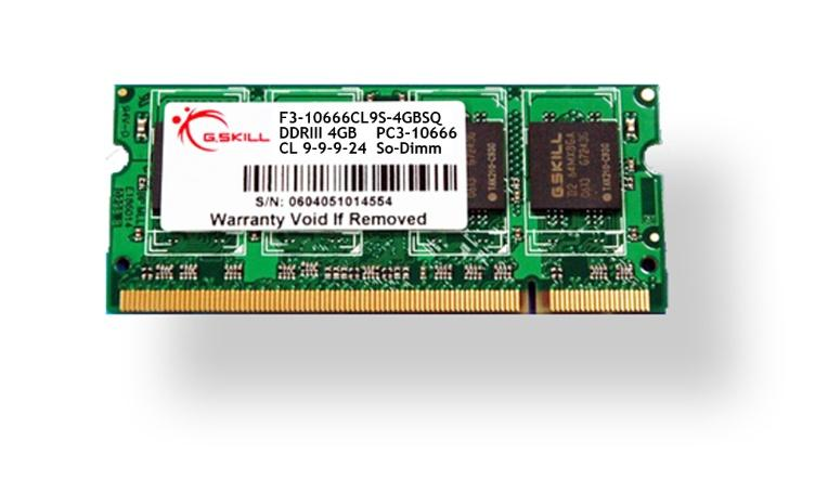 1600MHz DDR3 SO-DIMM Memory from MemoryC.com