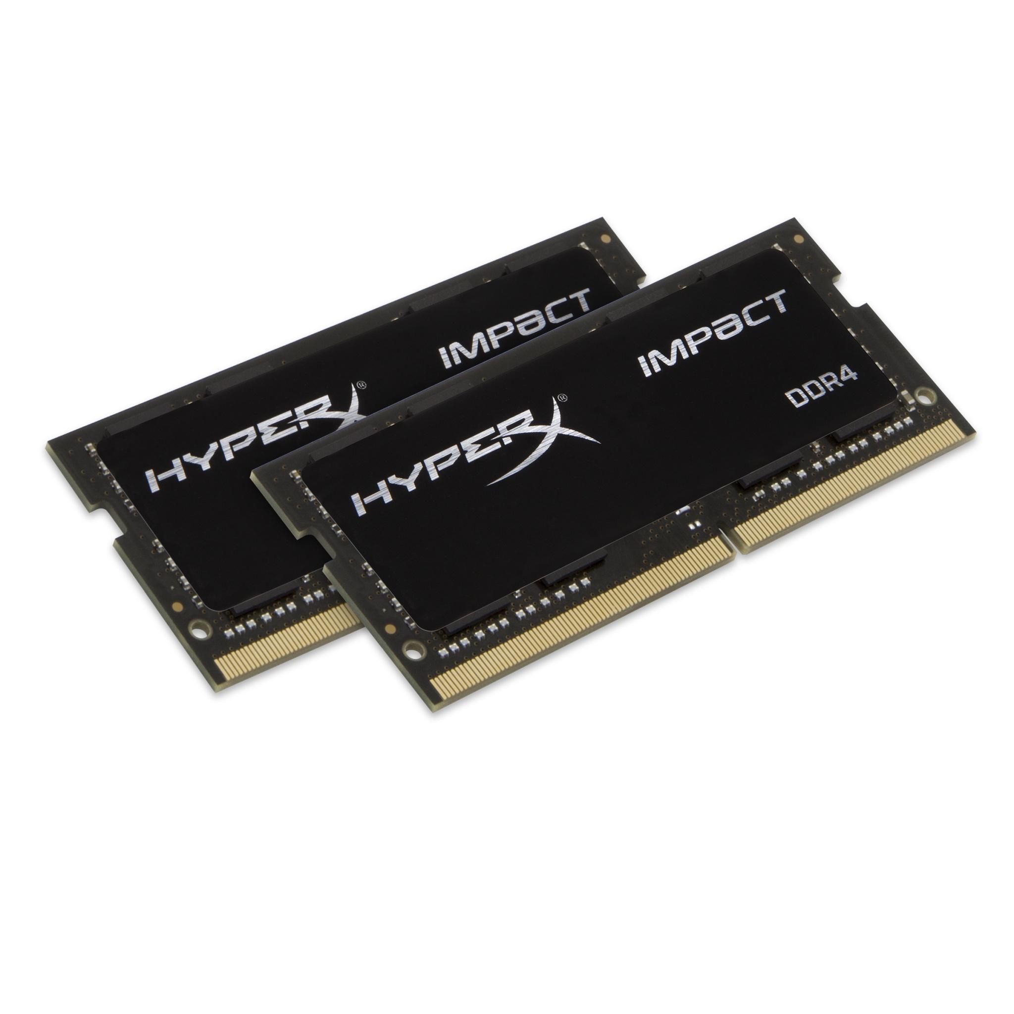 32GB Kingston HyperX PC4-19200 DDR4 2400MHz CL14 SO-DIMM Laptop Kit 2x16GB