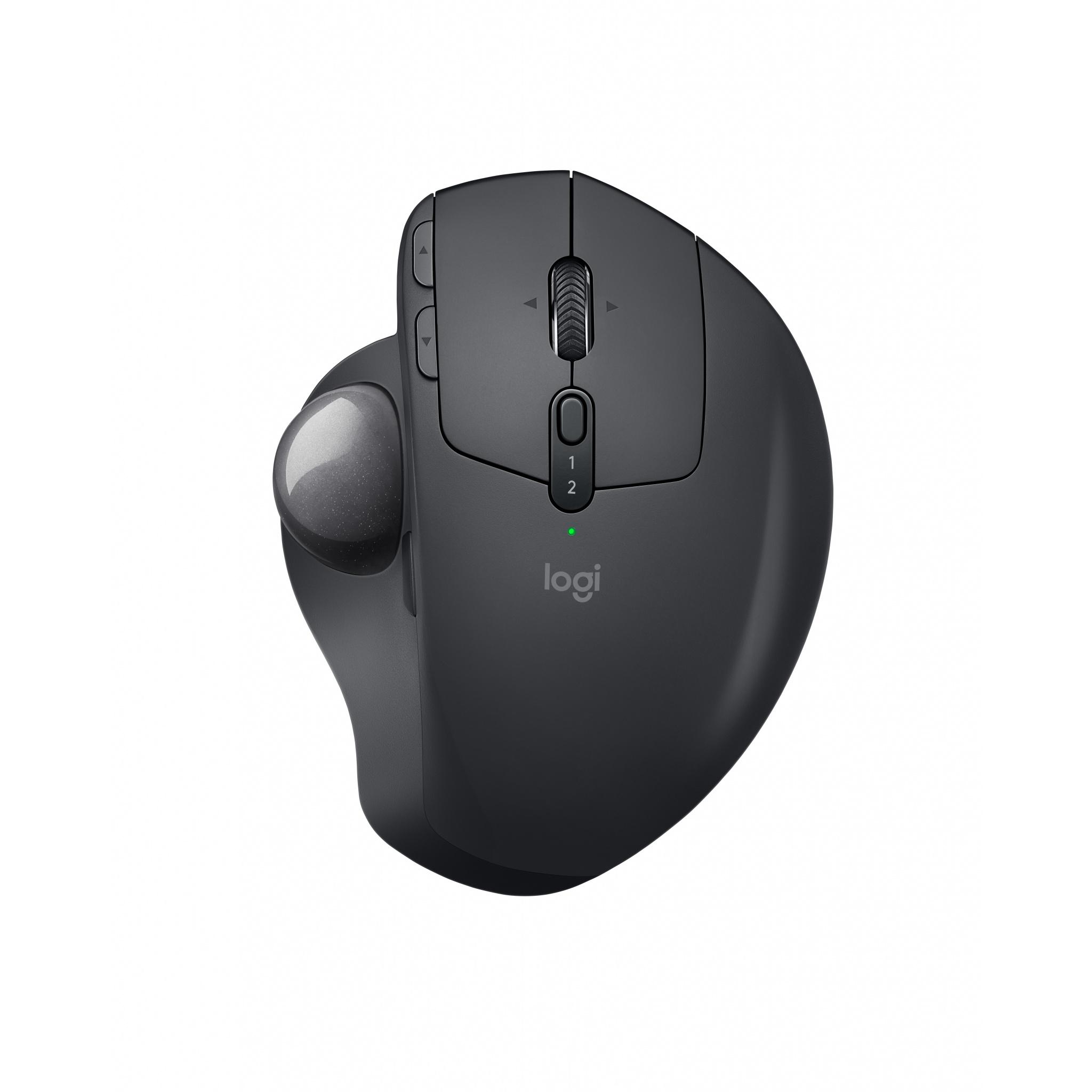 Logitech MX Ergo Advanced Bluetooth 2 4 GHz 8 Buttons Wireless Trackball  Mouse