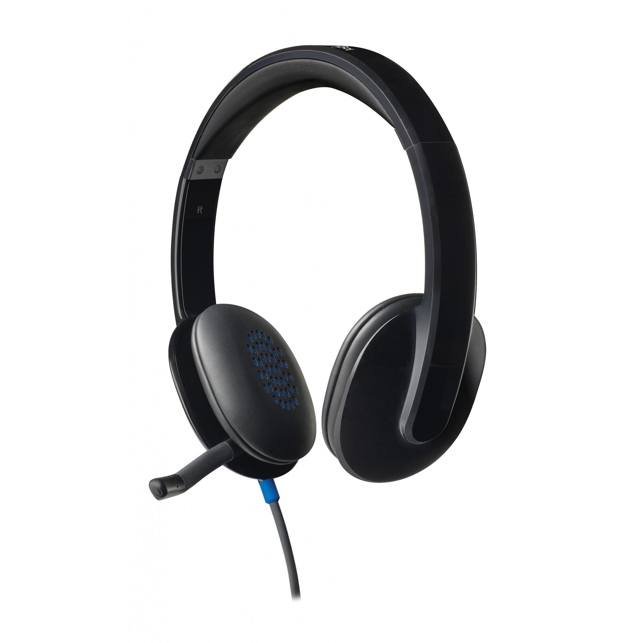 Logitech H540 Binaural filaire casque USB3.0 - noir