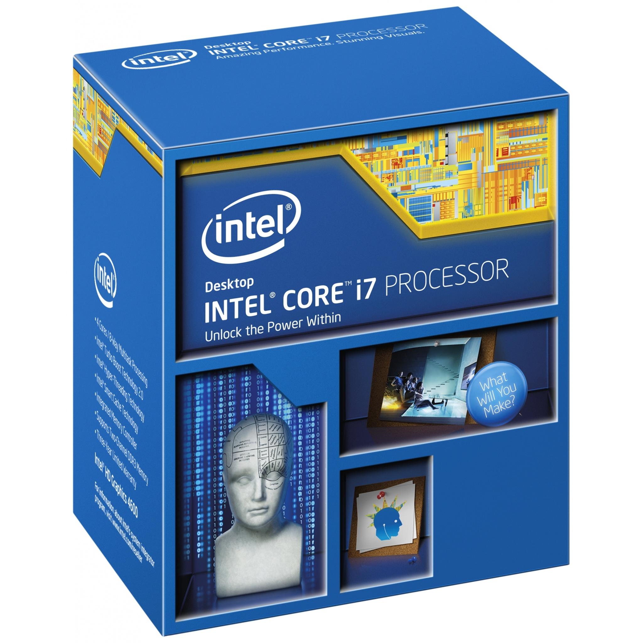 Intel Core i7 - 5775C 3.3GHz Broadwell CPU LGA1150 Desktop-Prozessor Boxed