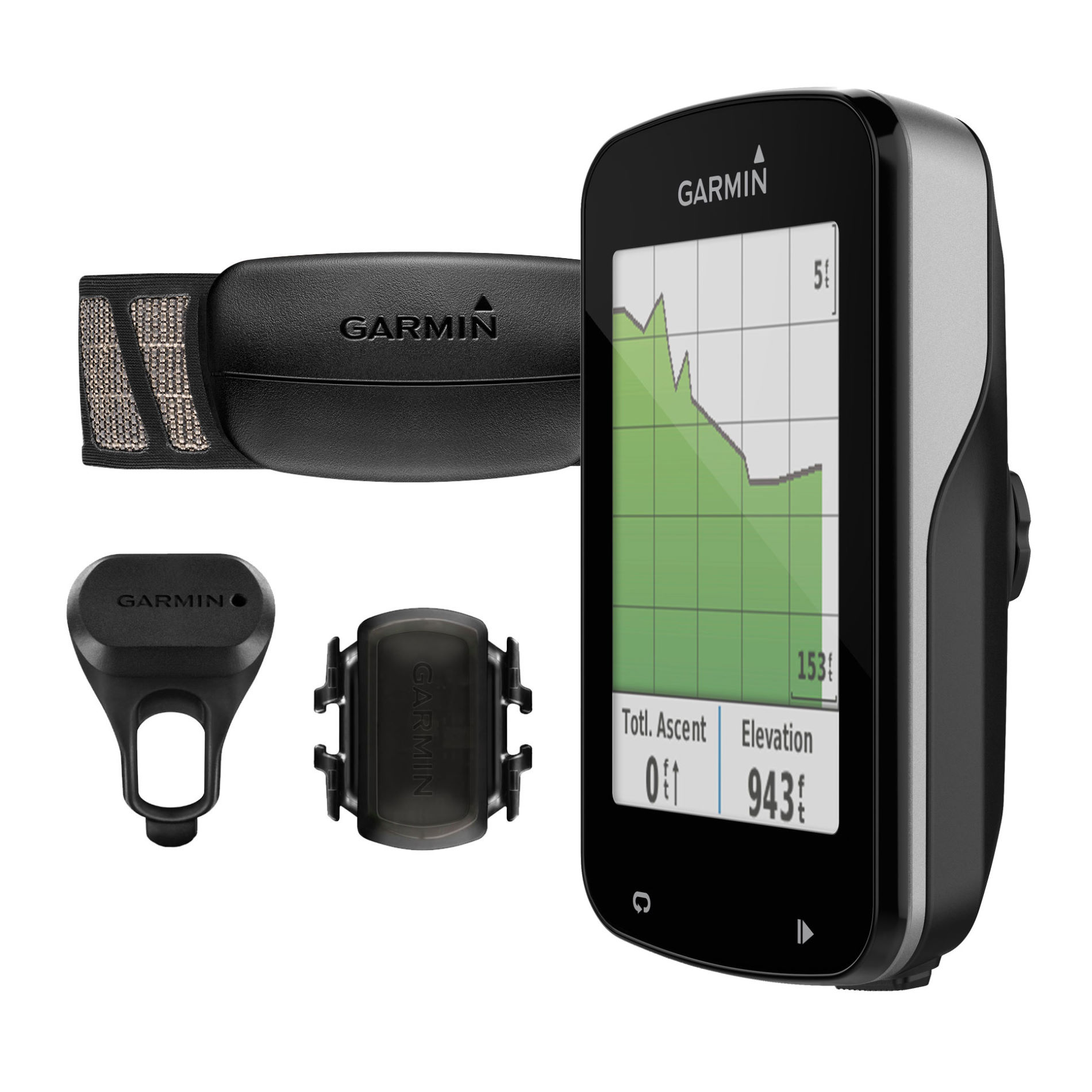 Garmin Cycle Computer >> Garmin Edge 820 Bundle Gps Computer Heart Rate Monitor Cadence