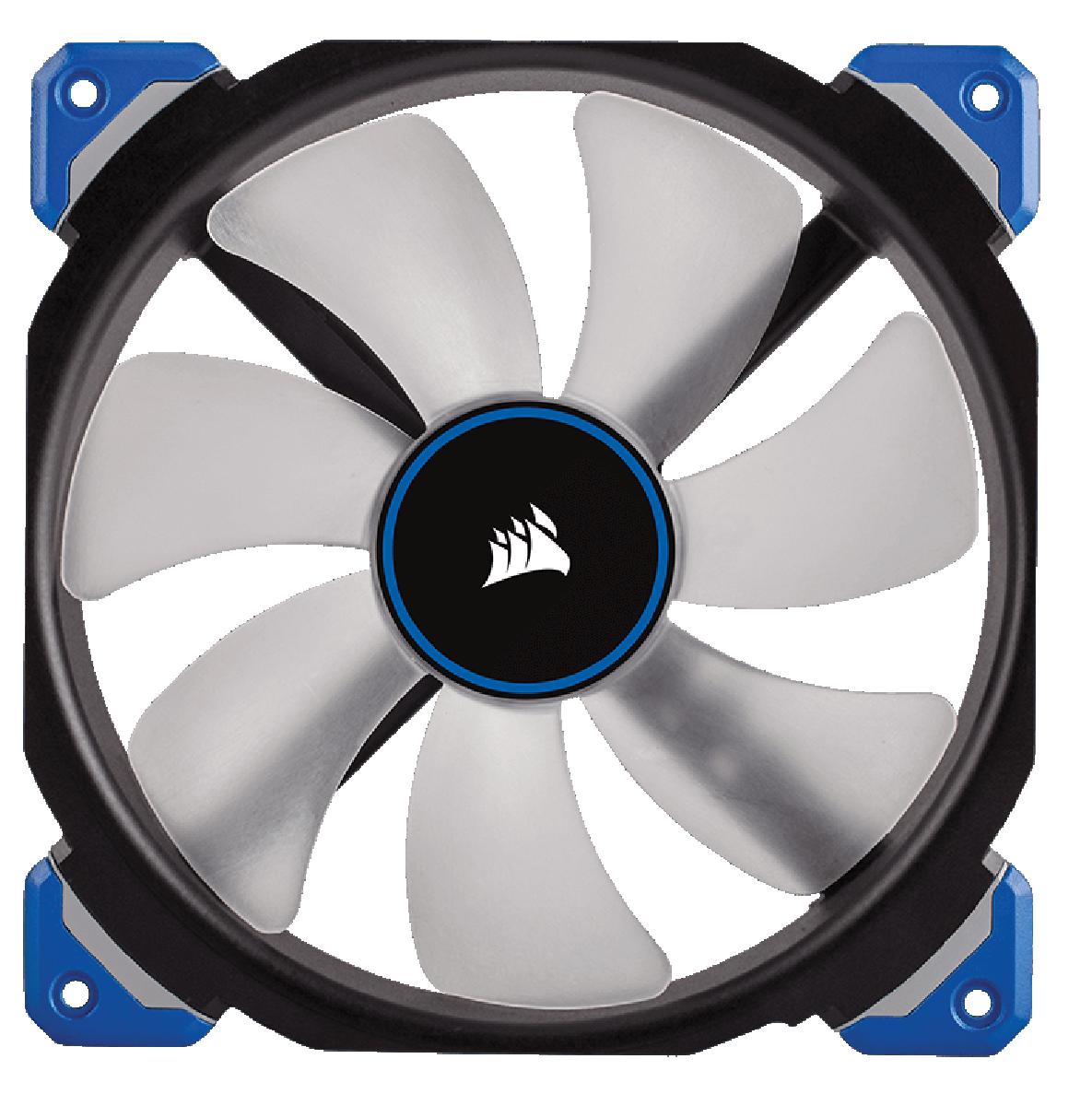 Corsair ML140 PRO LED CO-9050048-WW 140mm Premium Magnetic Levitation PWM Fan BL