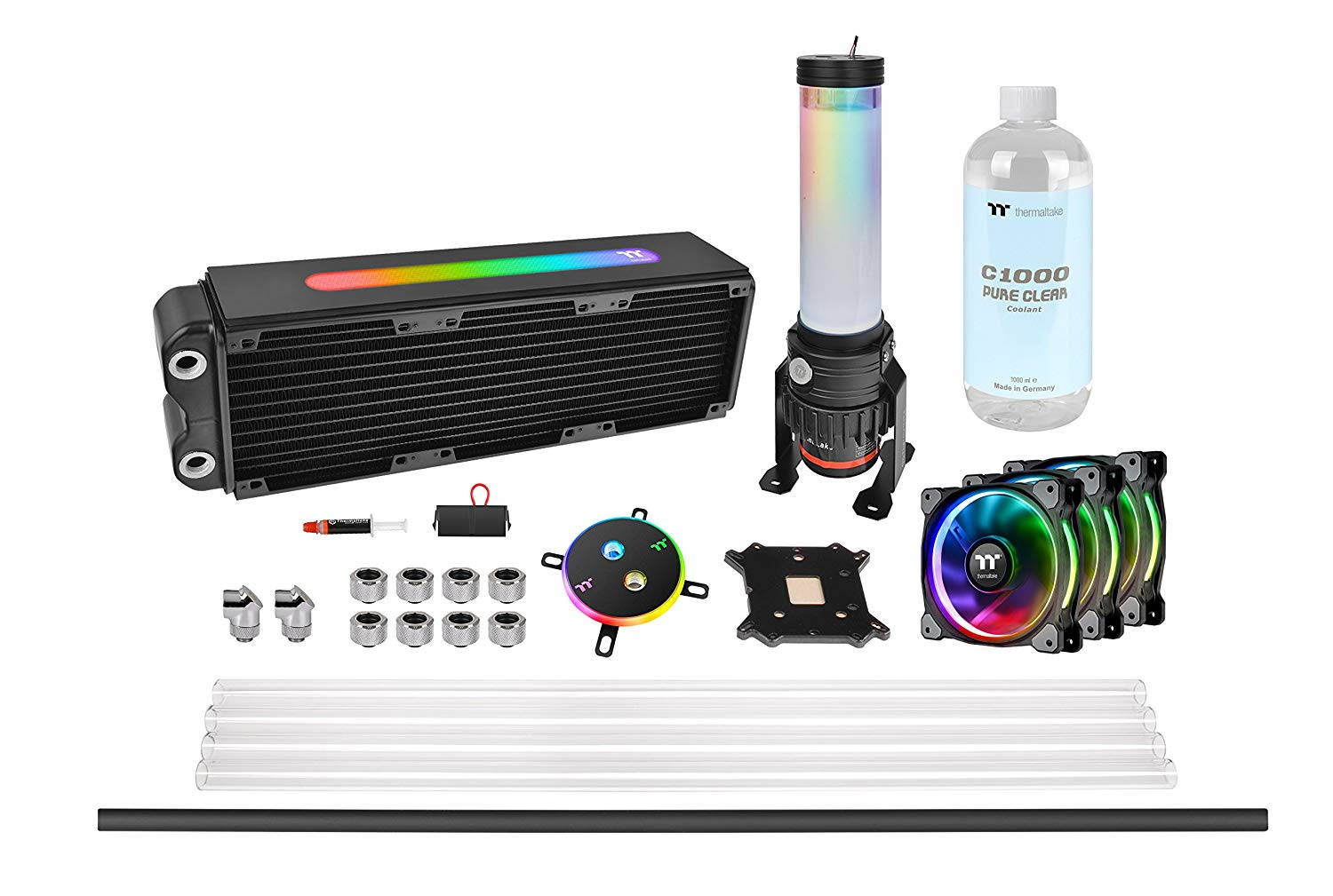 Thermaltake Pacific M360 D5 Plus Rgb Hard Tube Liquid Cooling Kit
