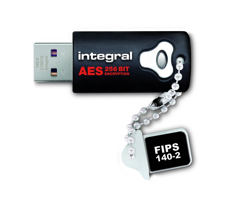 8gb Integral Crypto Drive Fips 140 2 Encrypted Usb Flash Drive 256