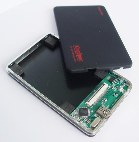"""KingSpec Mobile Disk ZIF 1.8"""" SSD Enclosure w/ USB cable at Sears.com"""