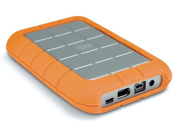 2TB LaCie Rugged Triple Interface Hard Disk (USB3.0, USB2.0, 2x Firewire  800)