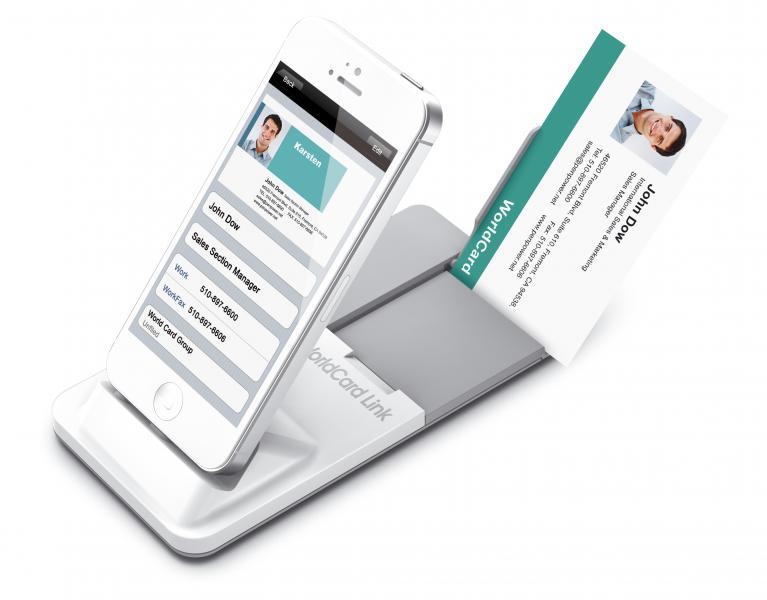 PenPower WorldCard Link Pro Business Card scanner for