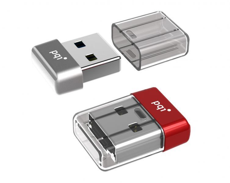 32gb Pqi U603v Usb3 0 Ultra Small Flash Drive Red Edition