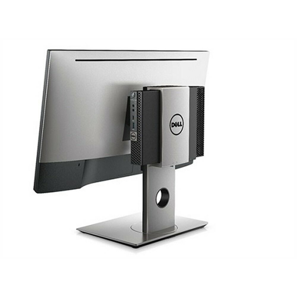 Dell MFS18 Desktop Monitor Stand - Up to 27-inch Screen - Black, Silver