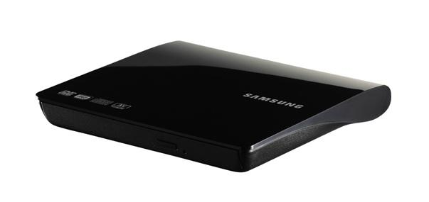 Samsung 8x slim external dvd writer review and how to use with.