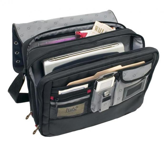 Swissgear Saturn 17 Inch Laptop Messenger Bag Black Ga