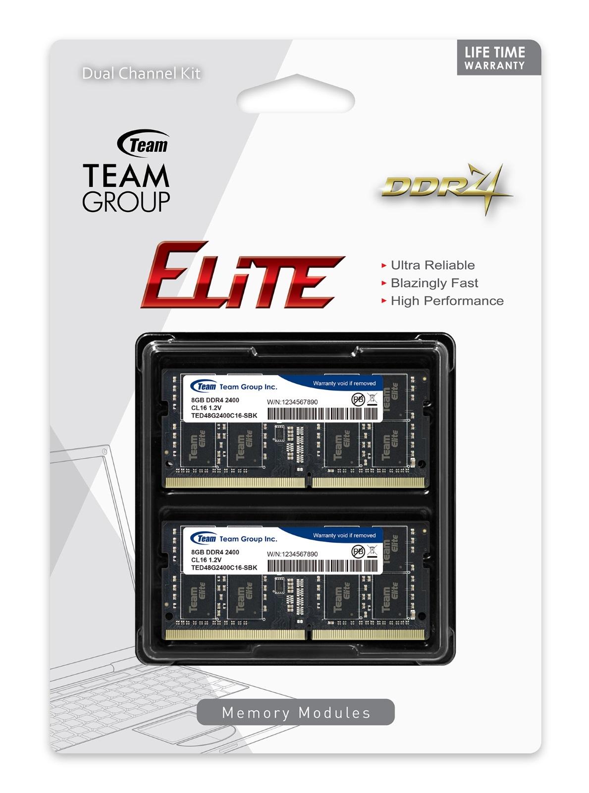CL16 1.20V PC4-19200 Ripjaws DDR4 Series 16GB G.Skill 2400MHz DDR4 SO-DIMM Laptop Memory Module
