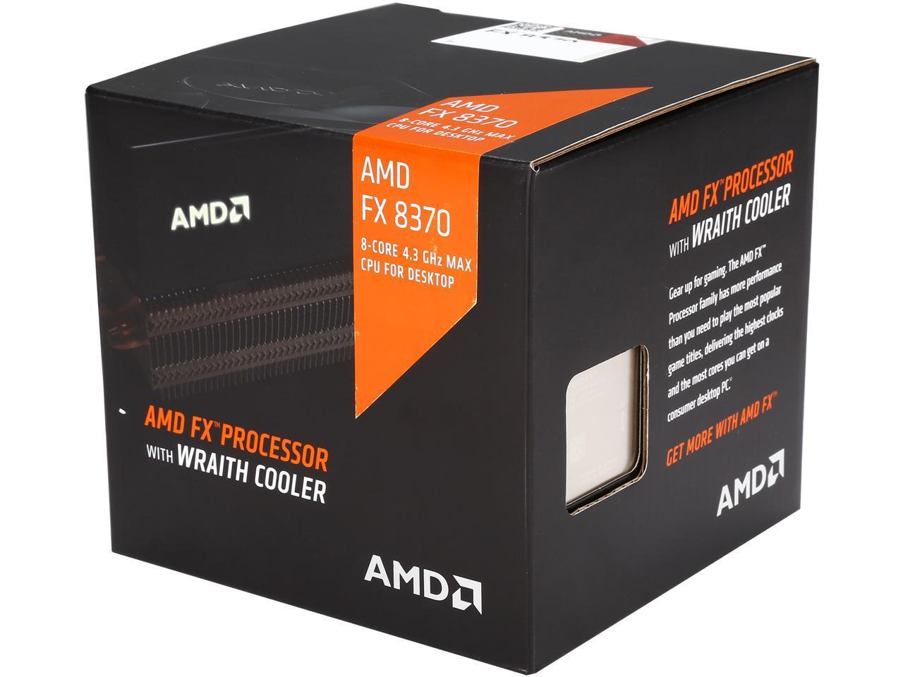 Amd Fx 8370 43ghz Am3 Desktop Processor Boxed 6300 Box