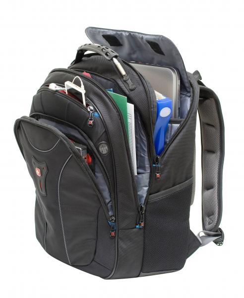 Wenger Carbon Laptop Backpack Designed For Macbook Pro 15