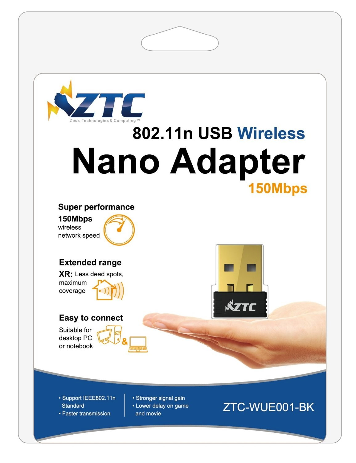Nano wireless usb adapter driver - Ztc Nano Wireless Usb Wifi Adapter Ieee 802 11n B G N Wep Wpa Wpa2 Wps Button Strong Signal Pc Mac